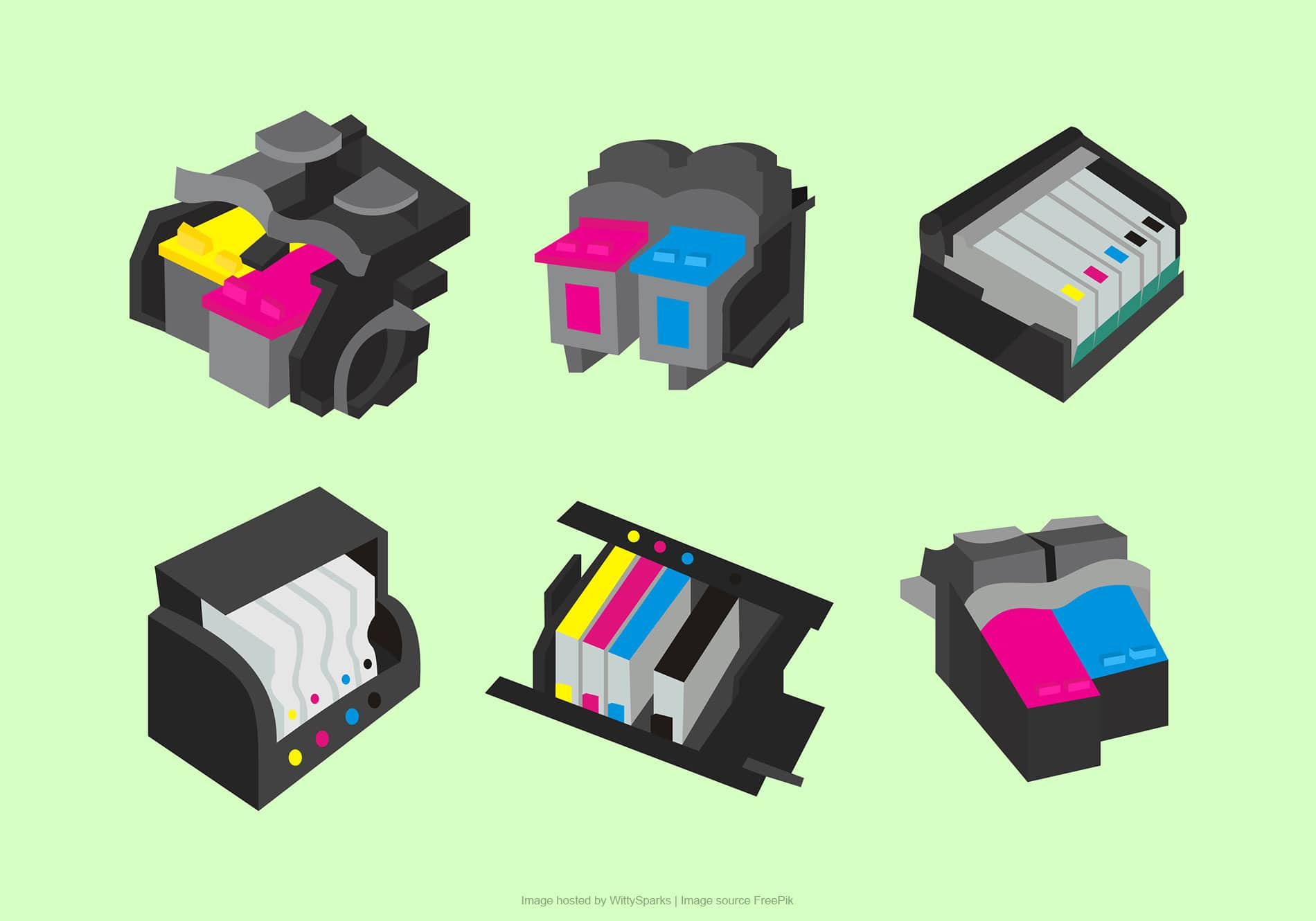 Types of ink cartridges