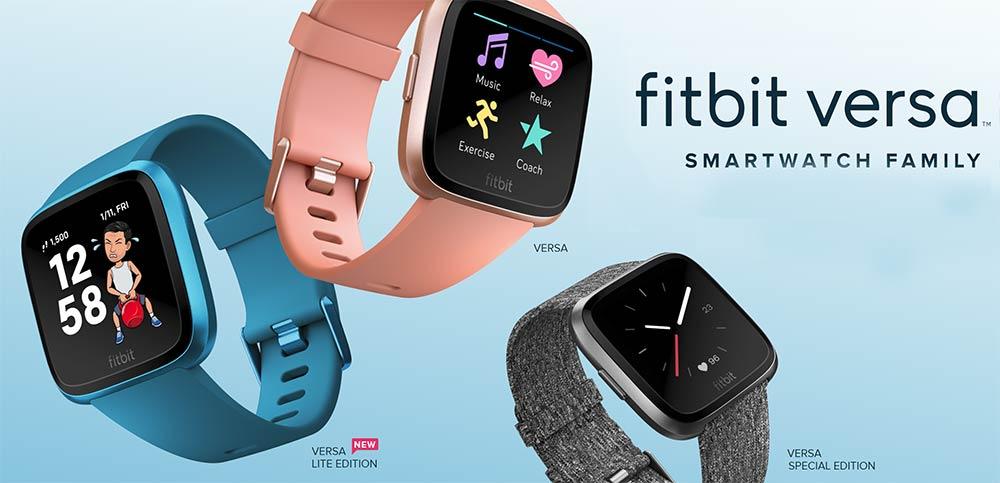 Fitbit Versa Smartwatch Family