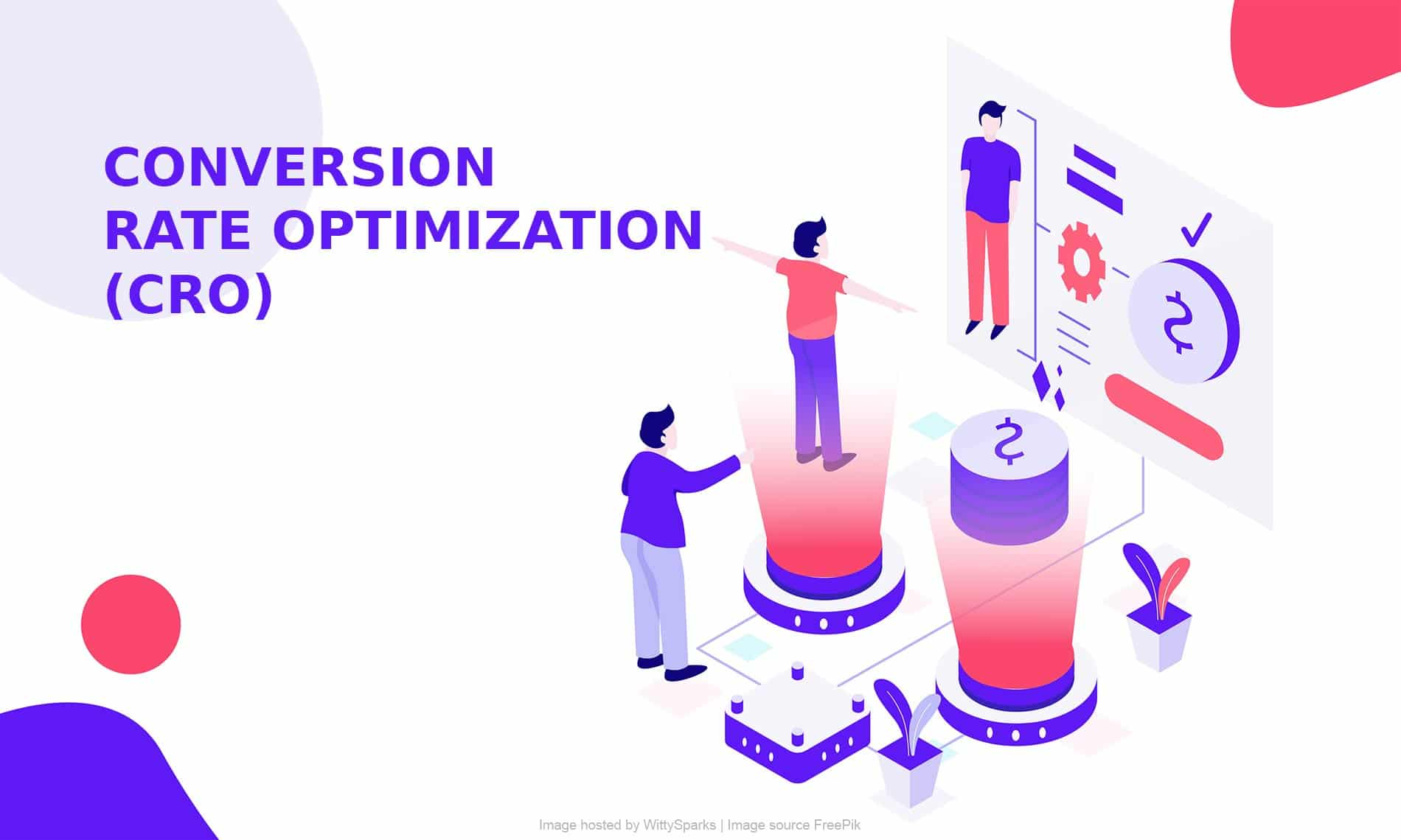 Conversion rate optimization (CRO) in online marketing