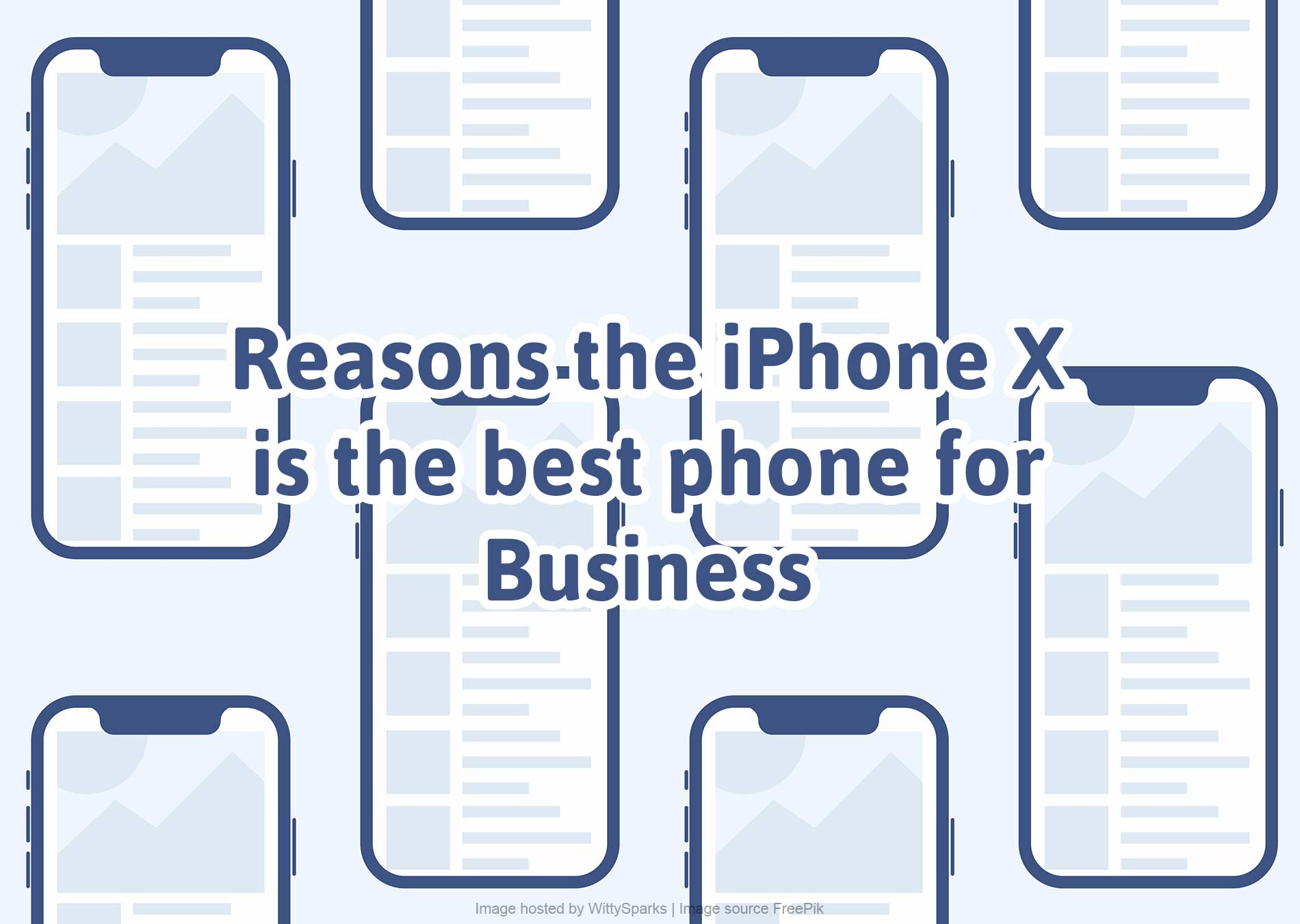 iPhone is the best phone for business