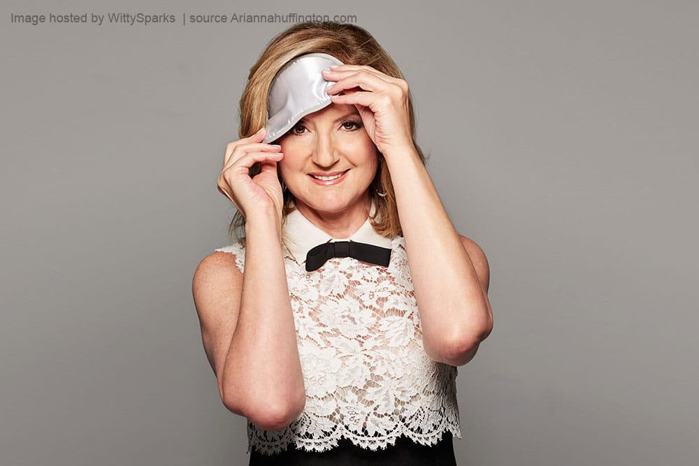 Arianna Stassinopoulos Huffington - founder of The Huffington Post, the founder and CEO of Thrive Global