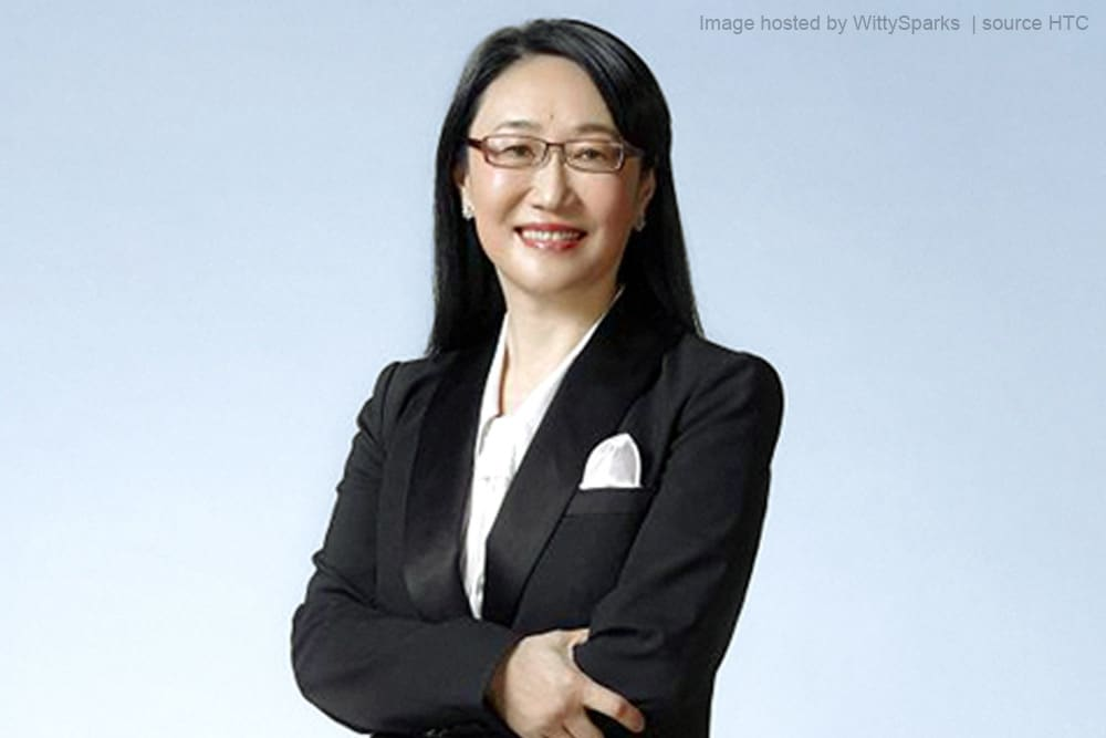Cher Wang is a Taiwanese entrepreneur and philanthropist - HTC