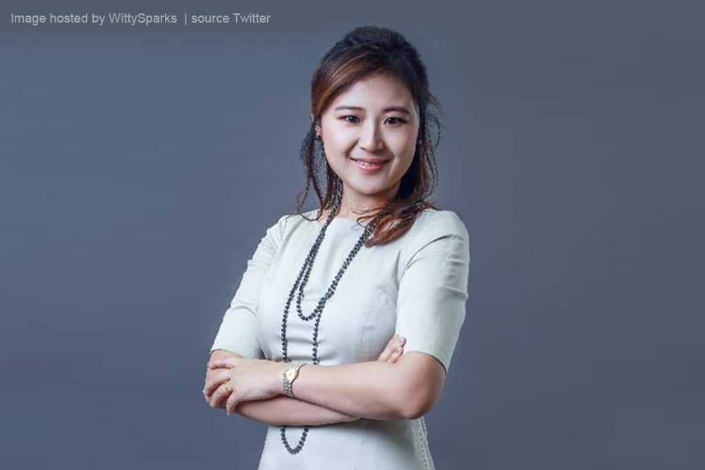 Cindy Mi - Founder and CEO of VIPKID - Image source Twitter