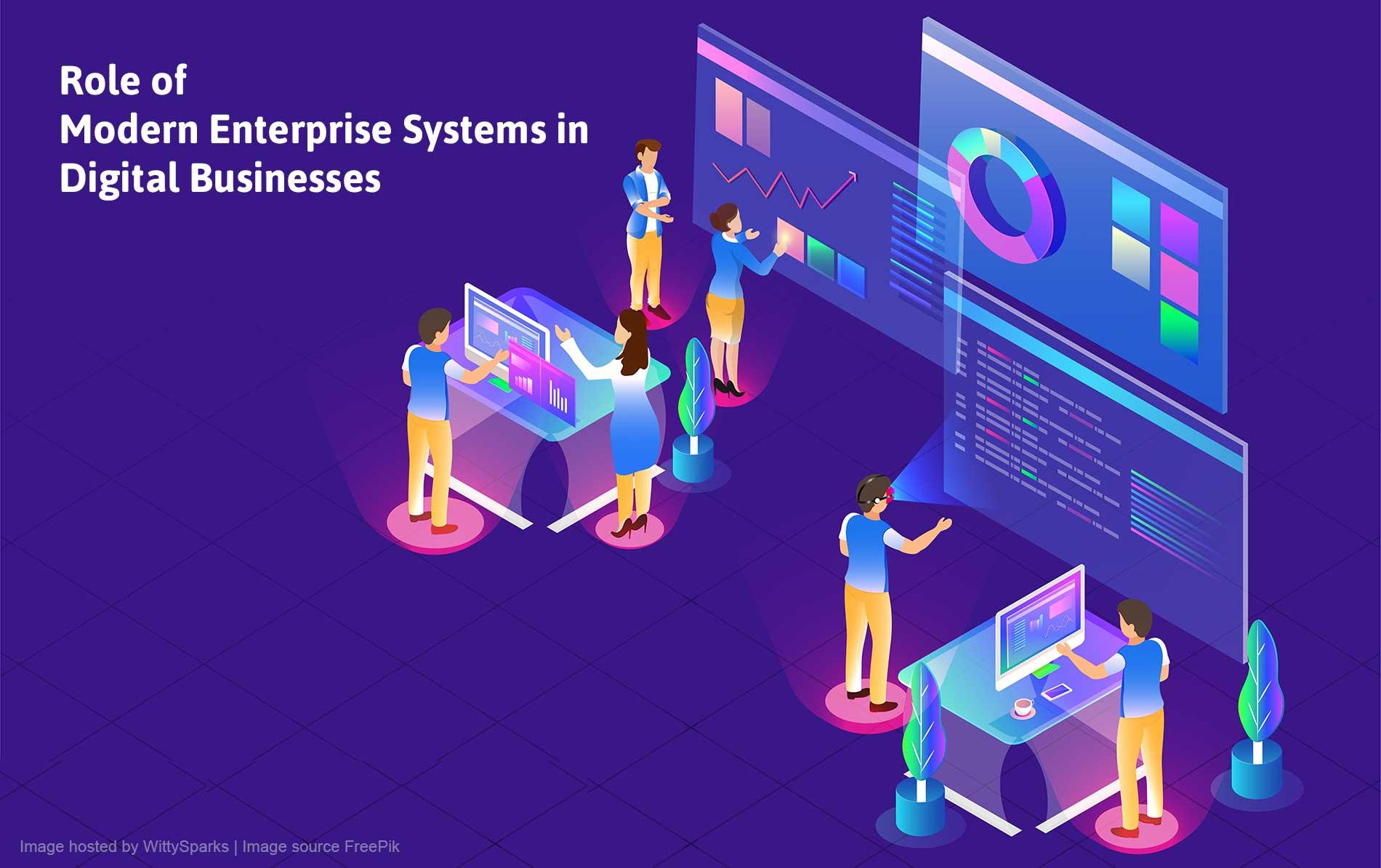 Enterprise Management System in Digital Business