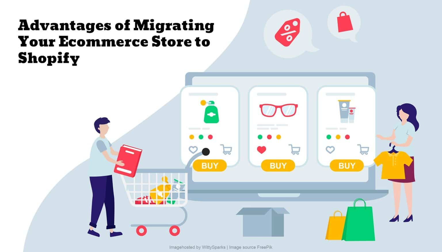 Advantages of migrating ecommerce store to shopify