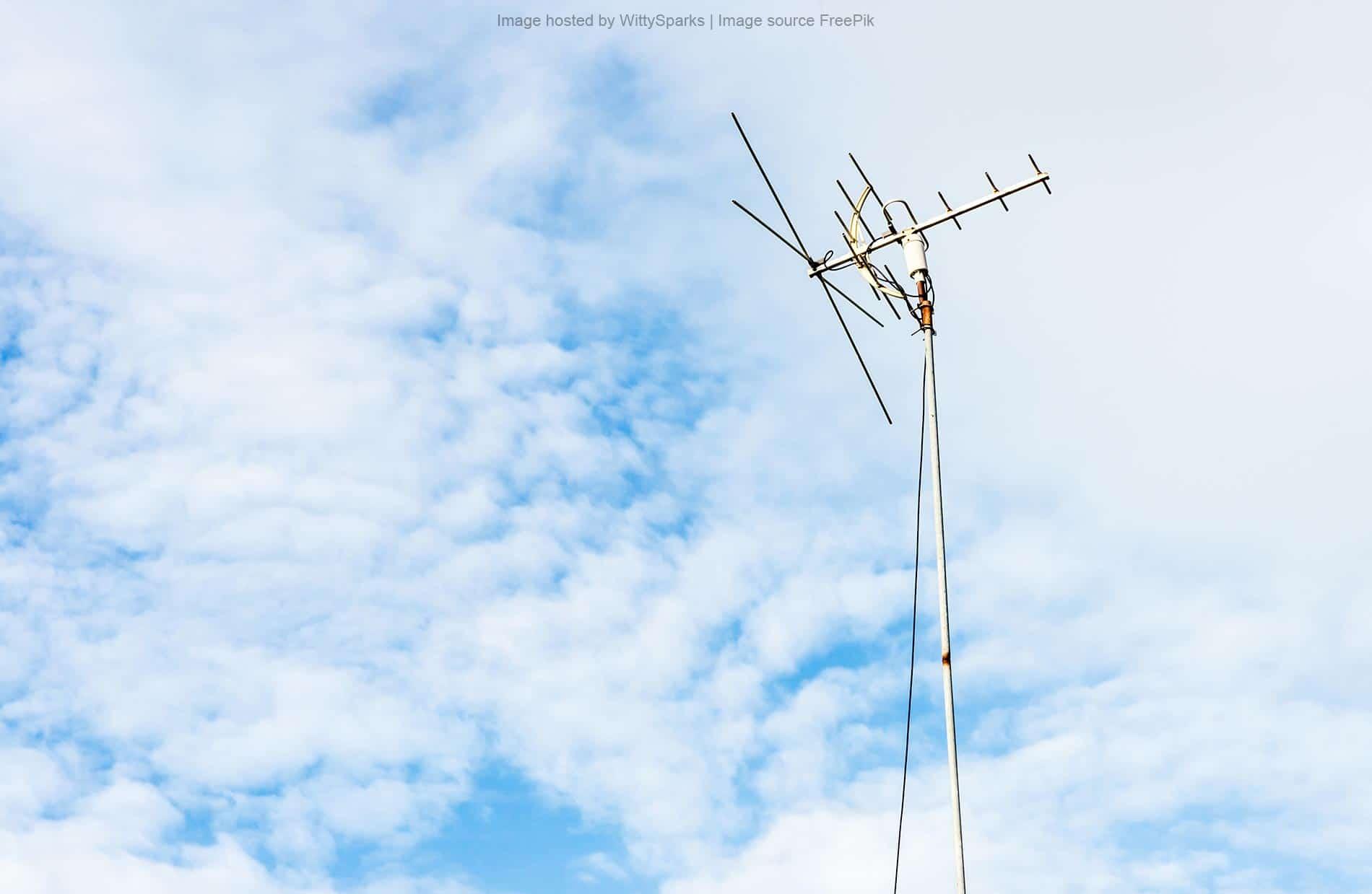 Television antennas in rural areas