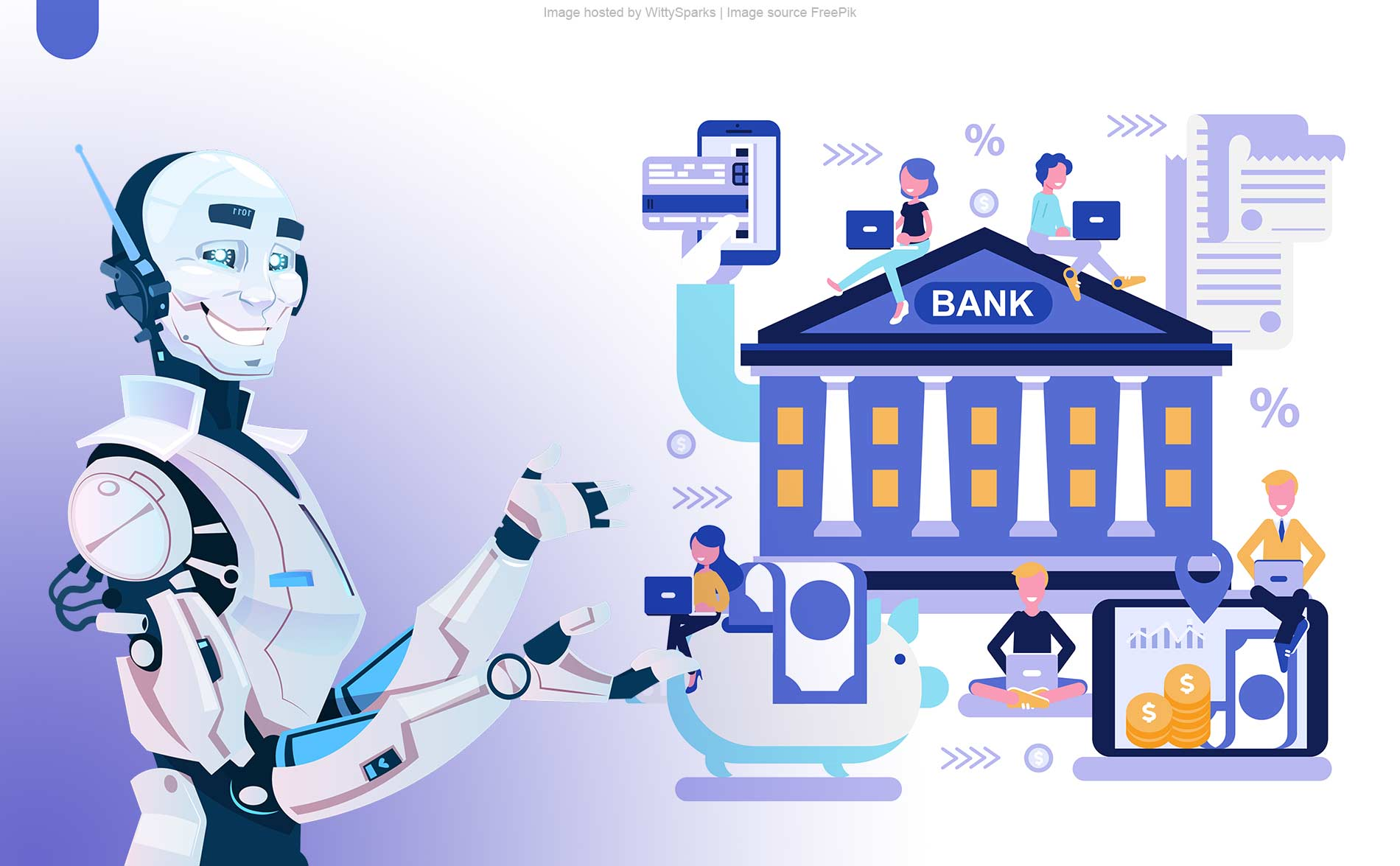 Artificial Intelligence in online banking sector