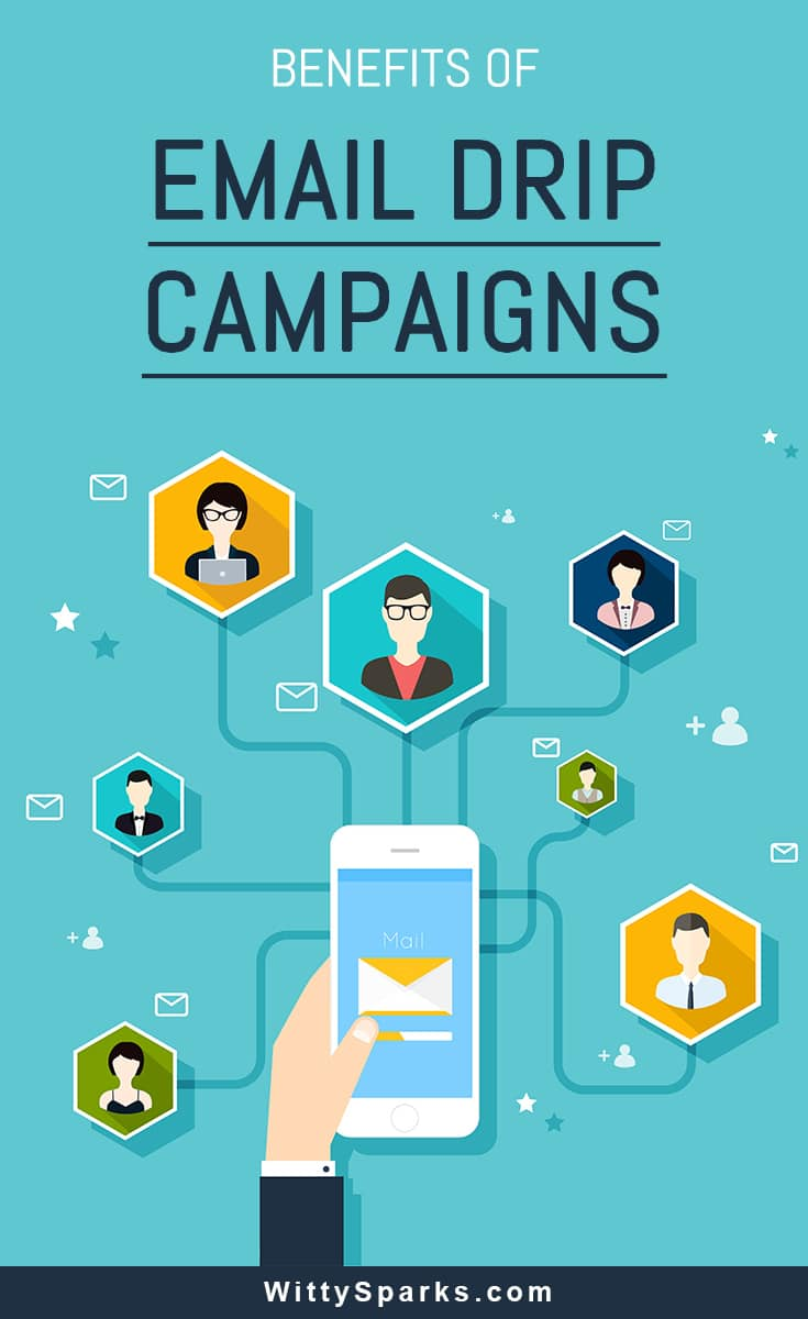 Benefits of Email drip campaigns