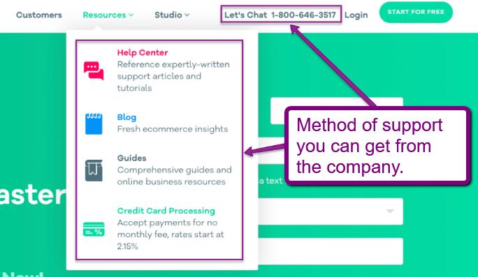 e-commerce customer support