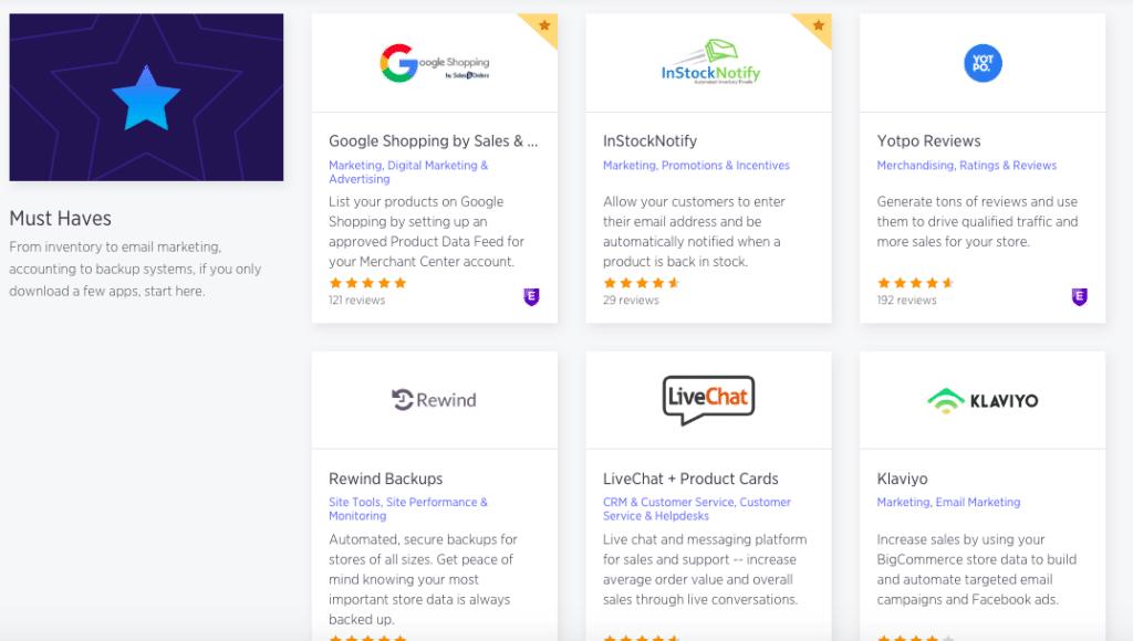 BigCommerce eCommerce App Marketplace