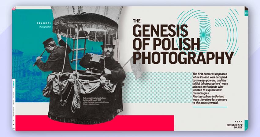 Genesis of Polish Photography Website