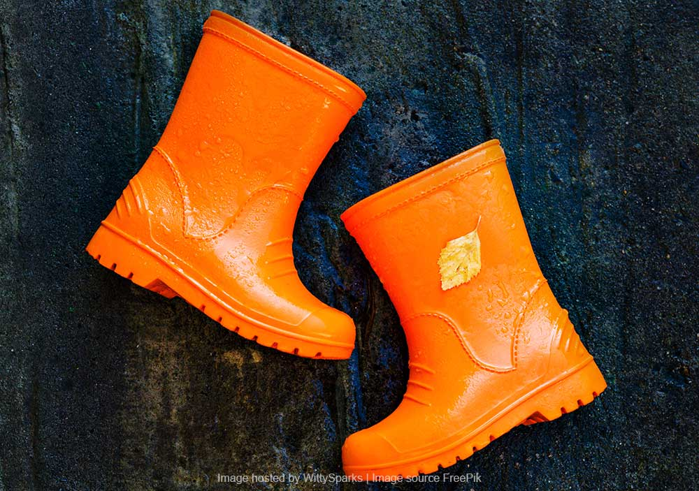 Gumboots or Crocs for Monsoon