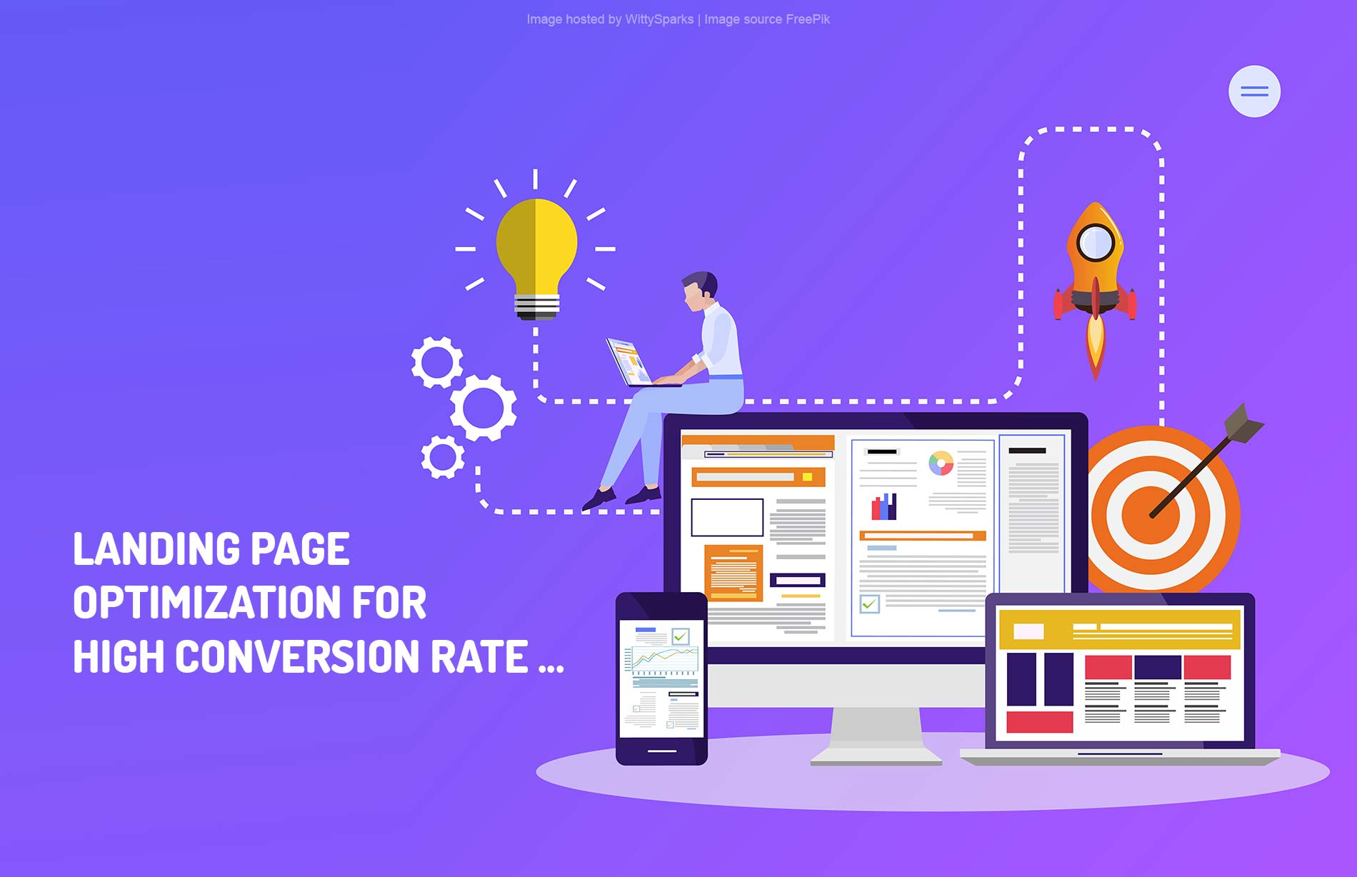 Landing page optimization for high conversion rates