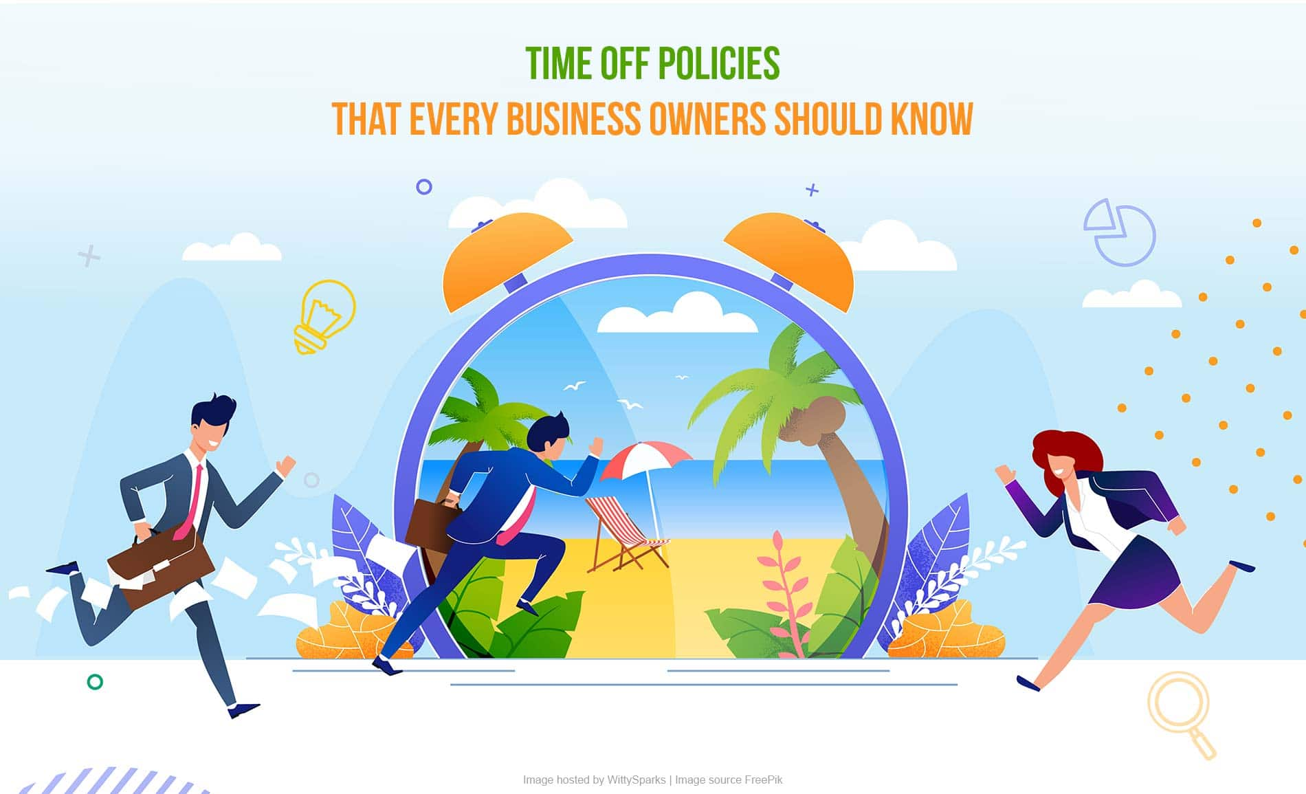 Paid time off or personal time off policies