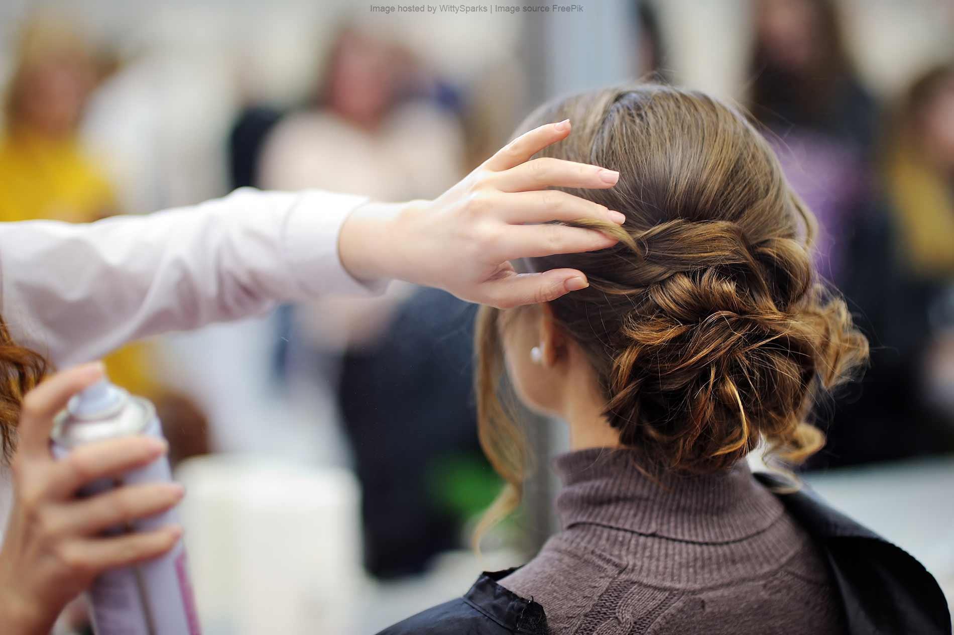 Self-employed hairdresser