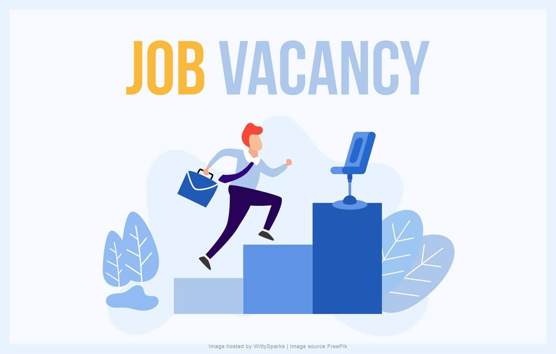 Job Vacancy and Career Opportunities