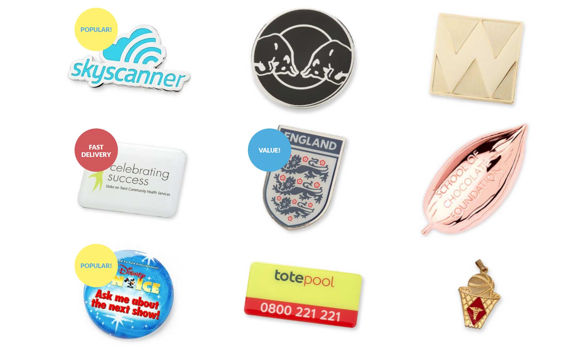 Custom badges for your business