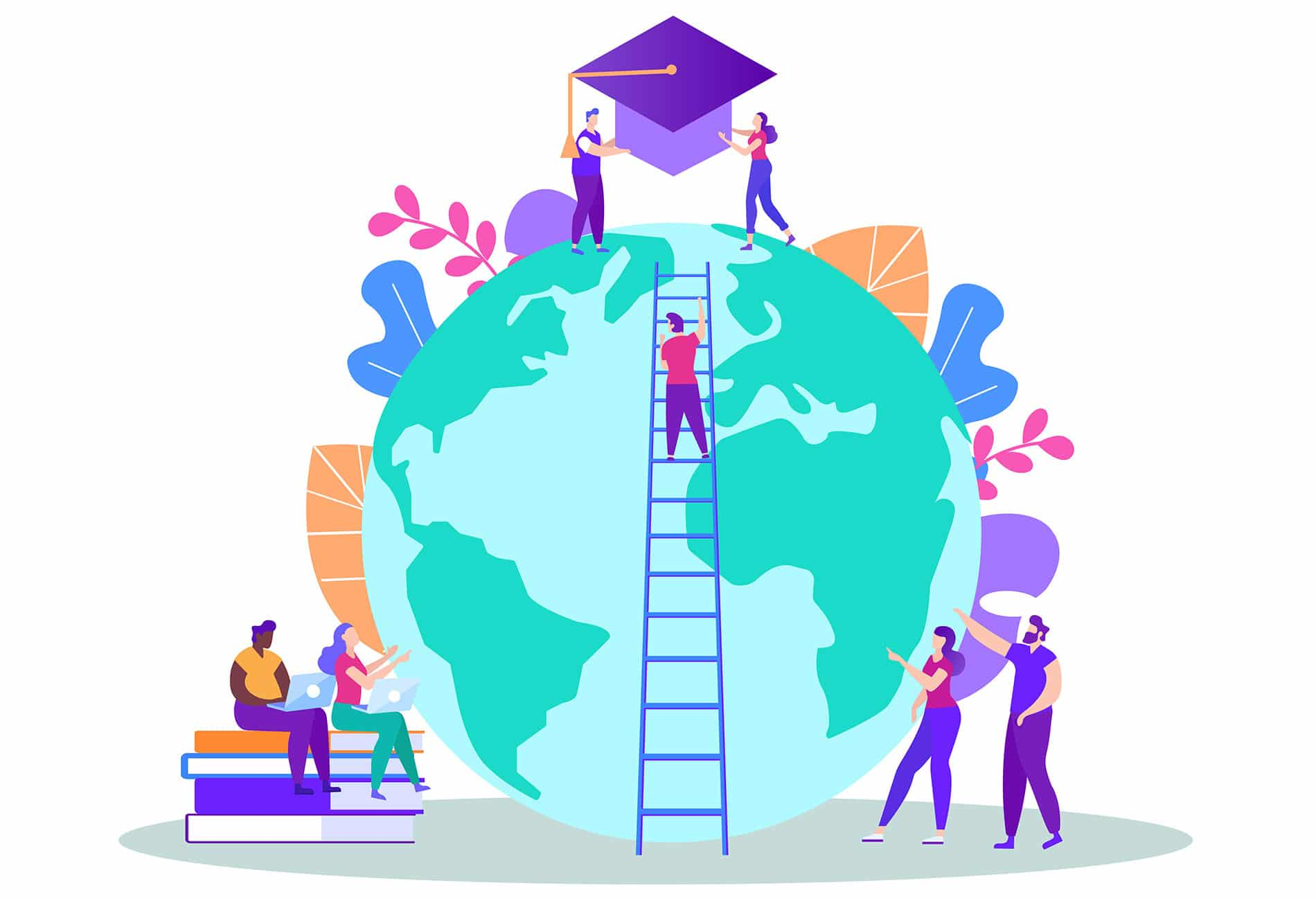 Distance education or study in abroad