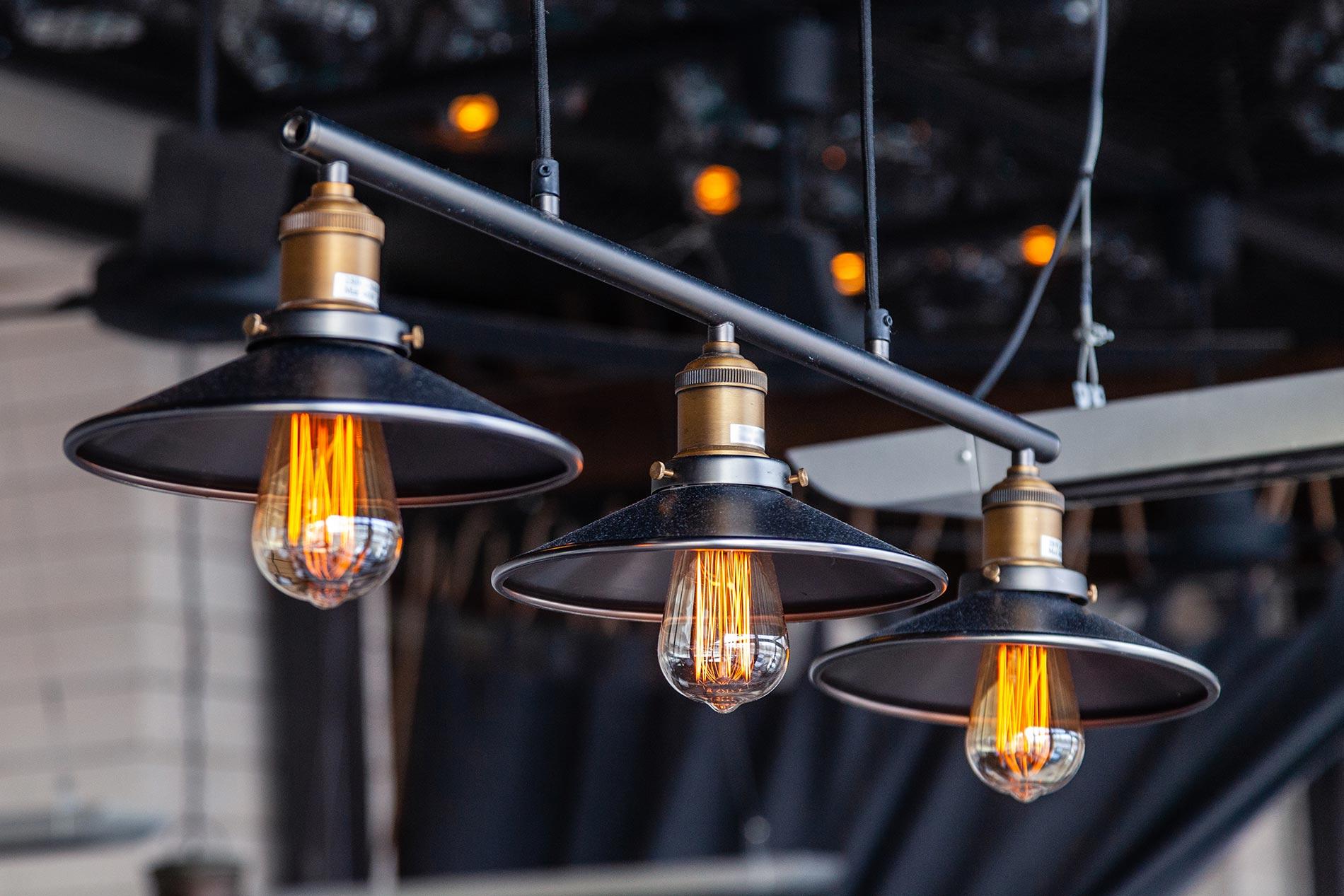 Industrial light fixtures