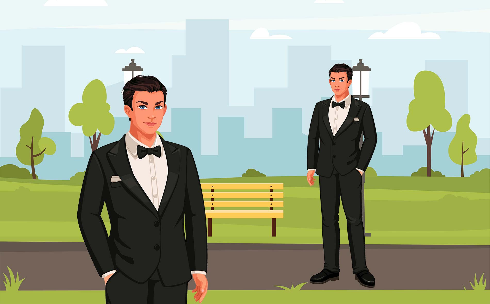 What makes a well groomed men
