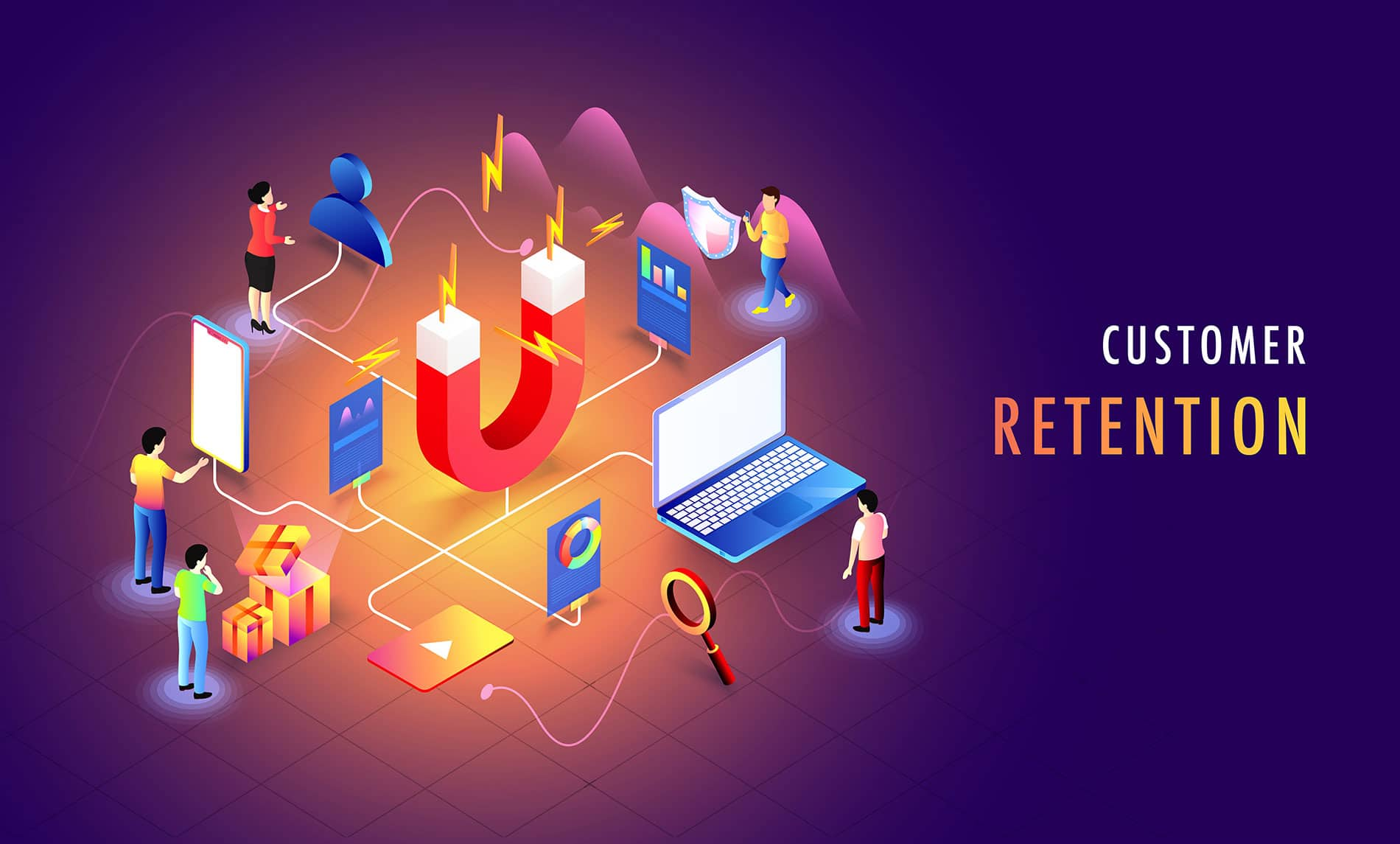 Customer experience and user retention