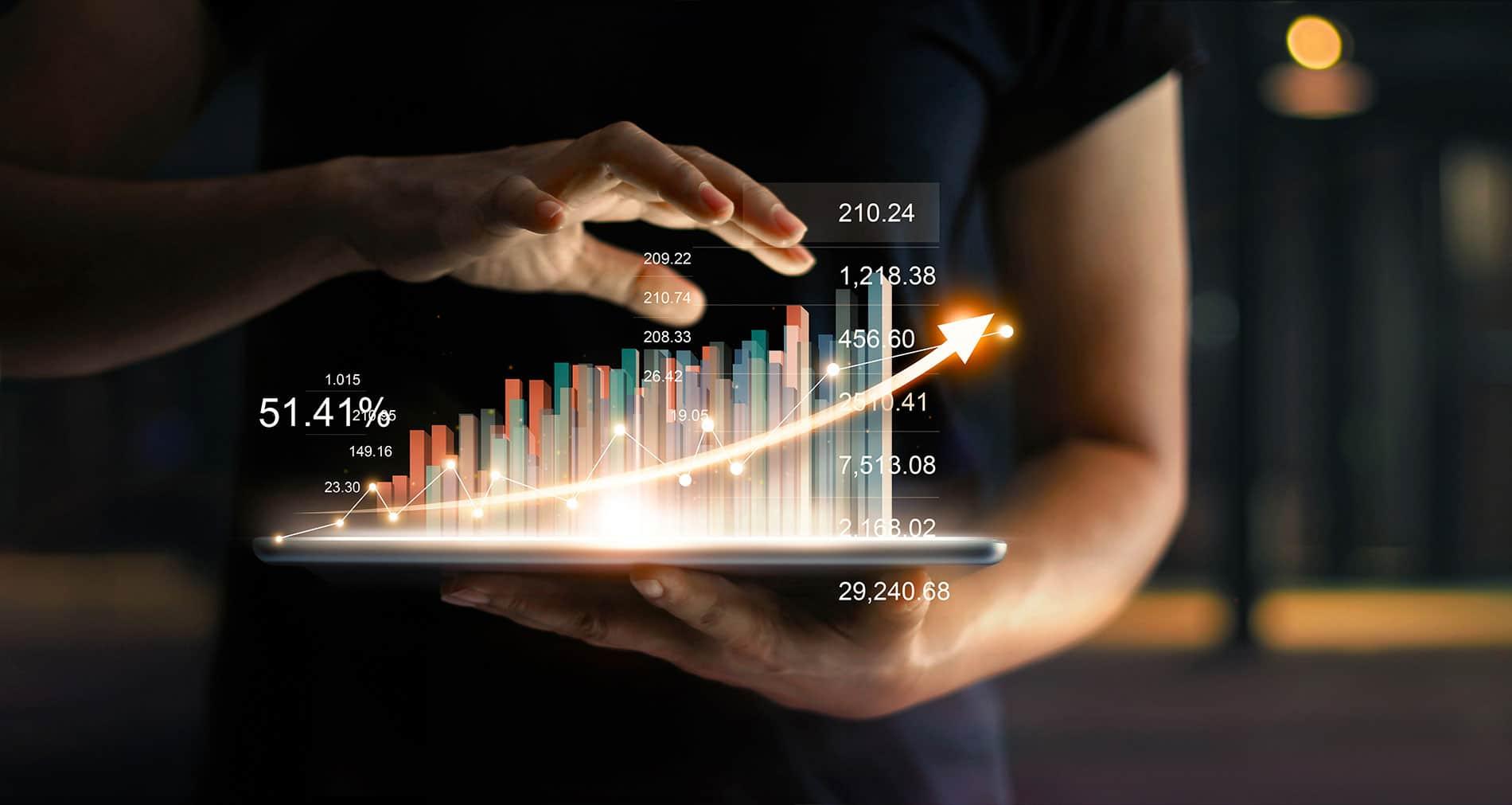 Investor financial market trends