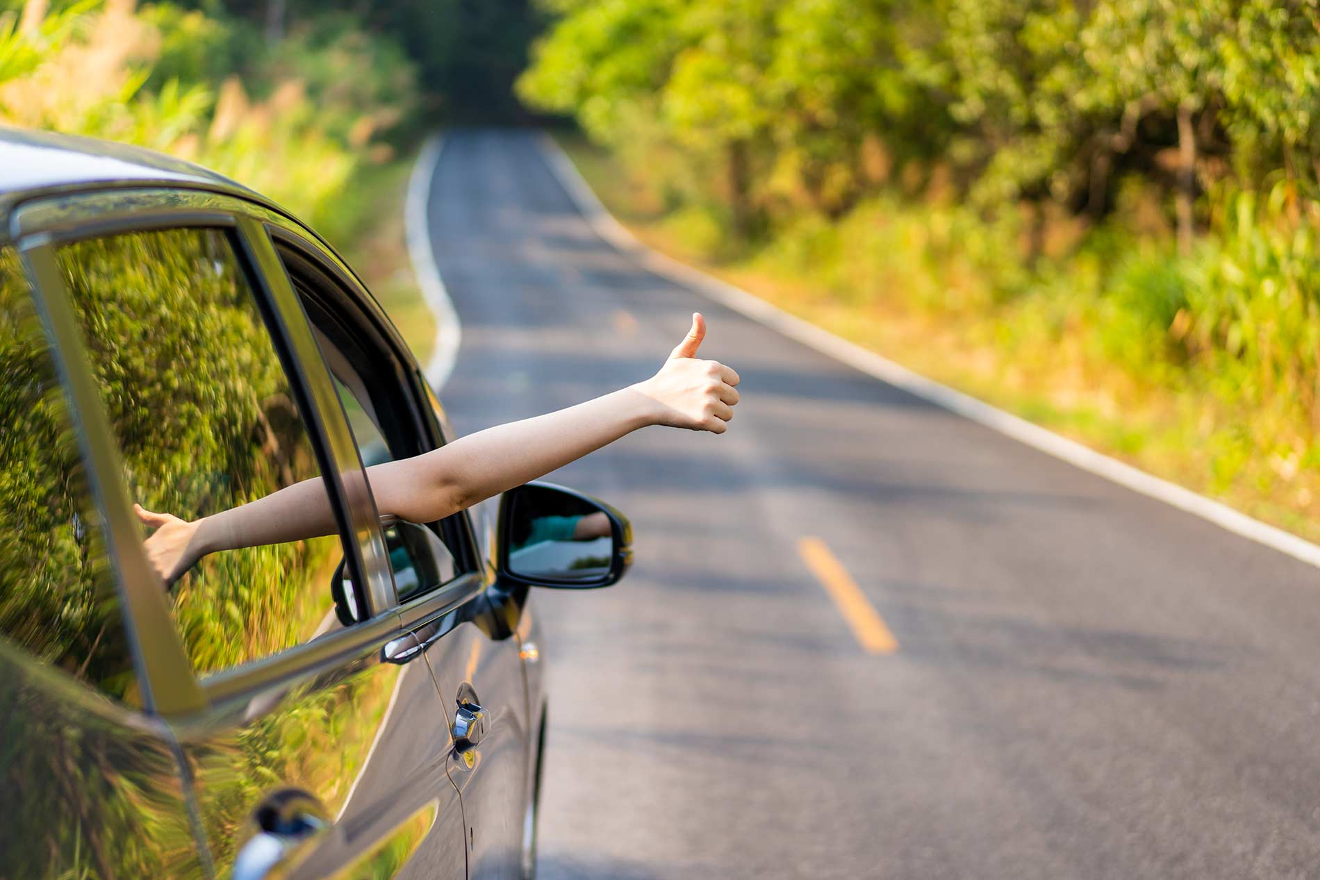 Learn to drive a car without the fear of accident