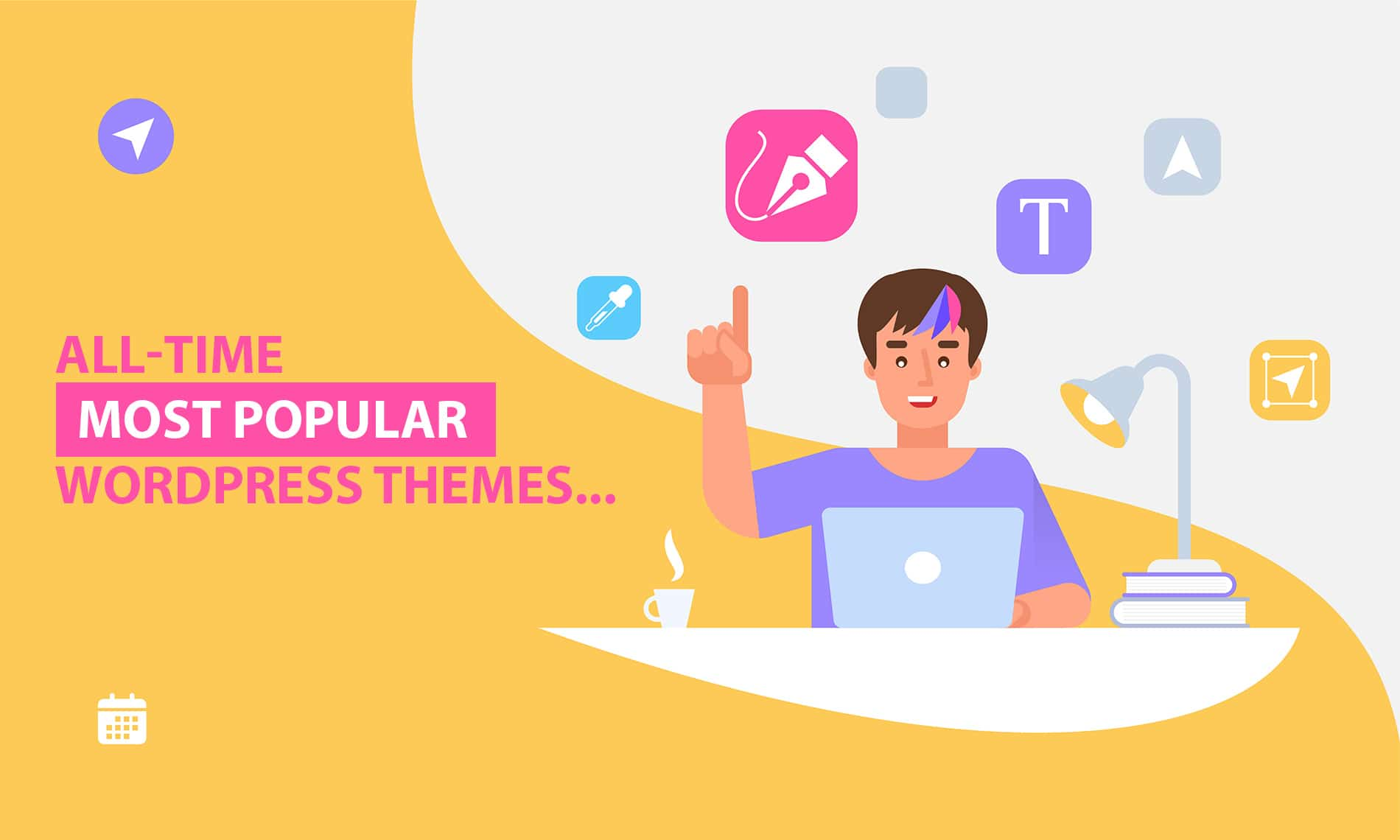 All-time Most Popular WordPress Premium Themes