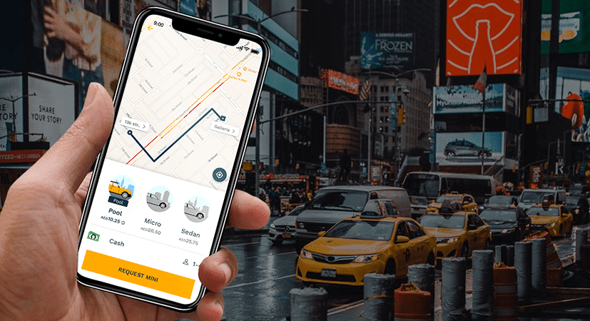 Taxi Application Features