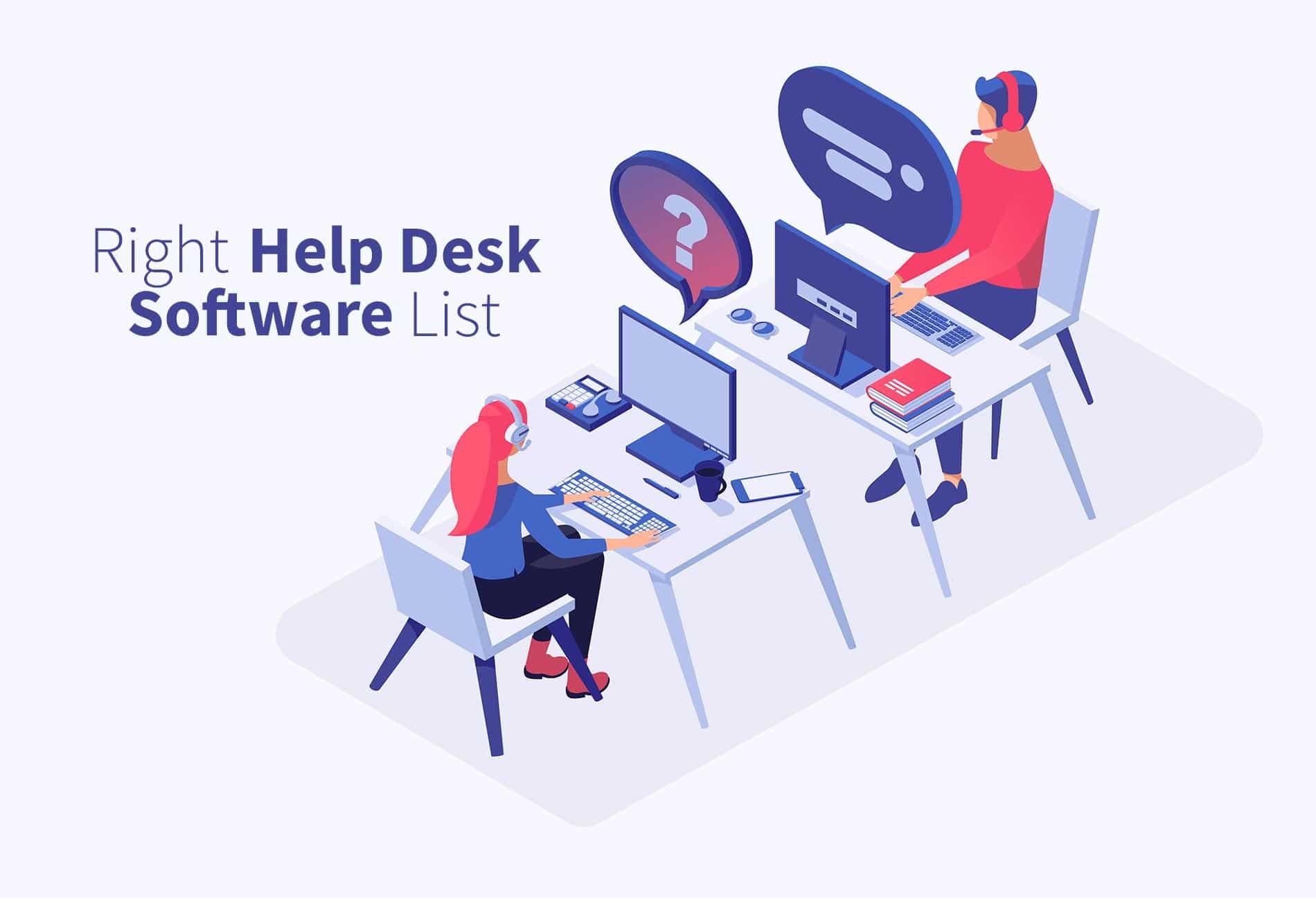 List of best helpdesk software