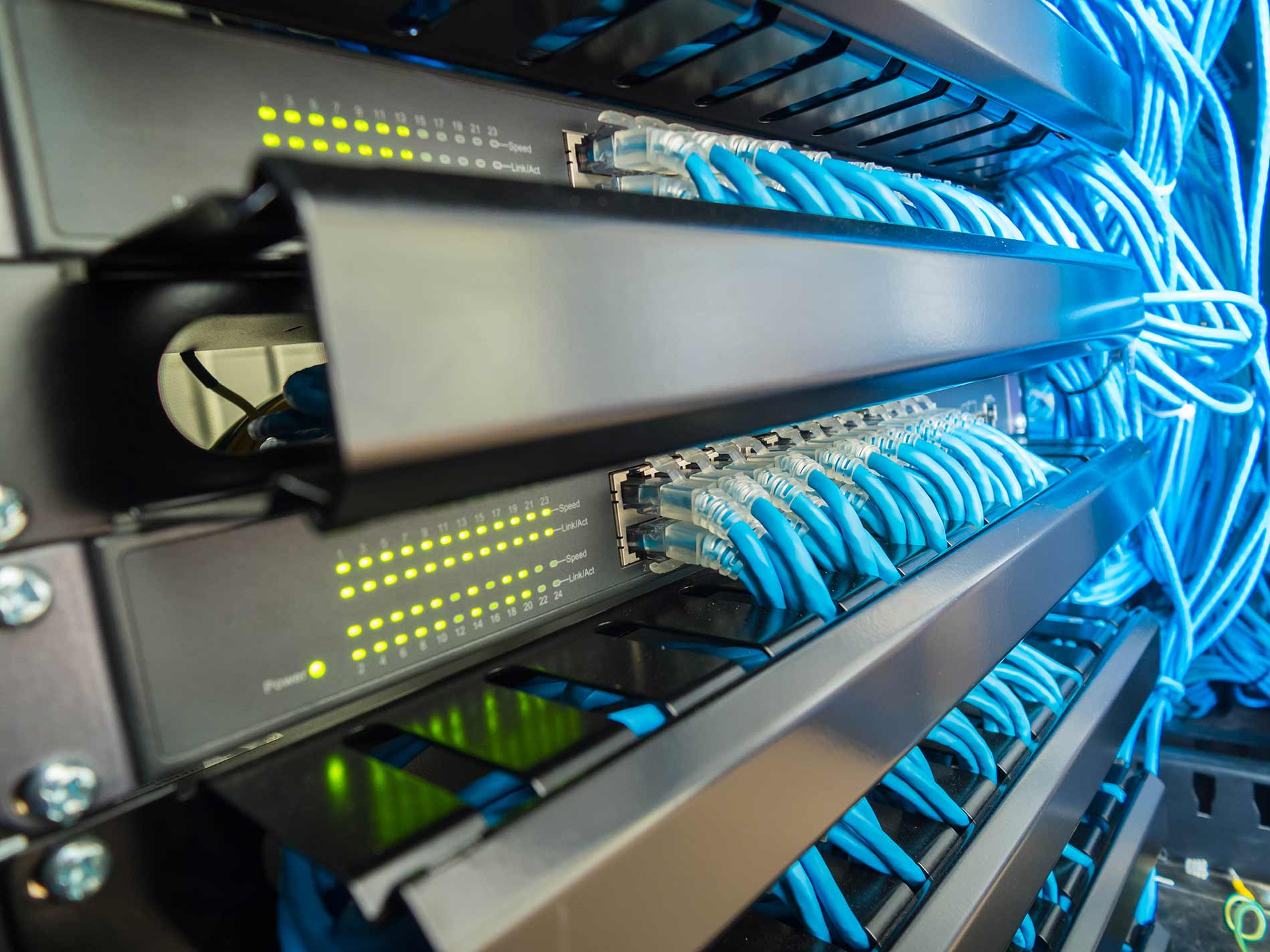 Network hardware update
