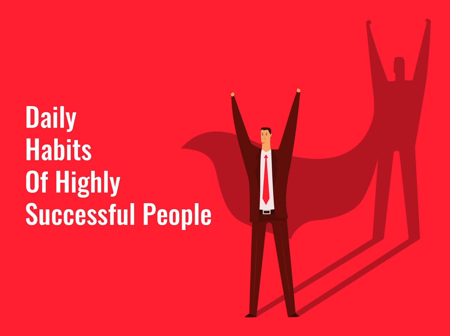 Successful people daily habits
