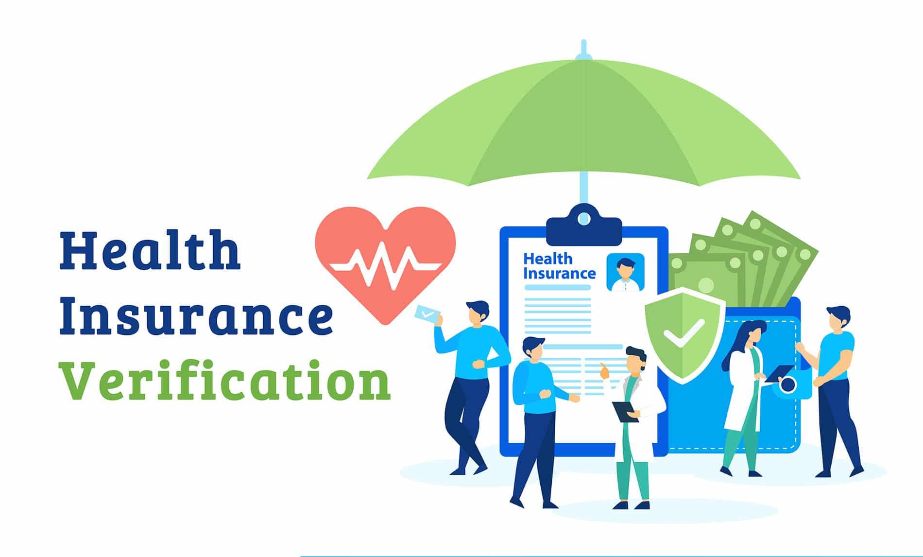 Health insurance verification company
