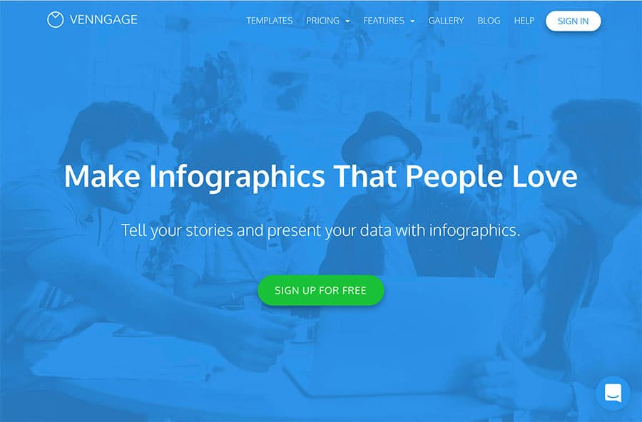 Venngage - The infographic maker