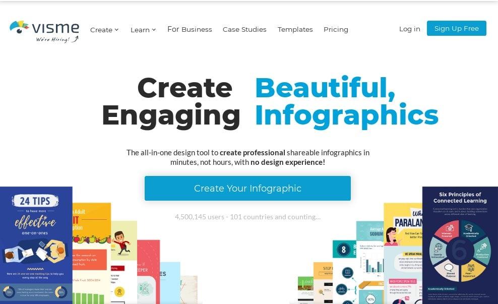 Visme - Visual design tool