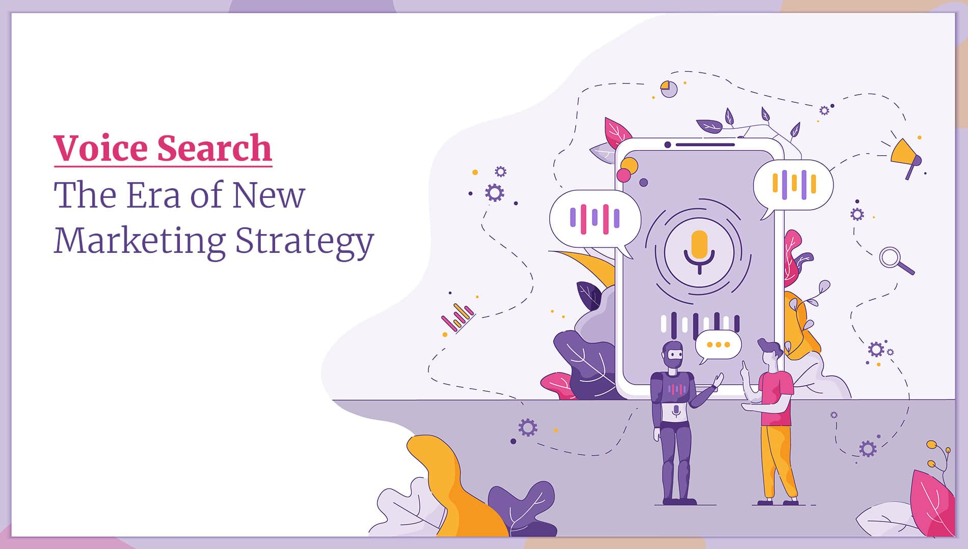 Voice search marketing strategy