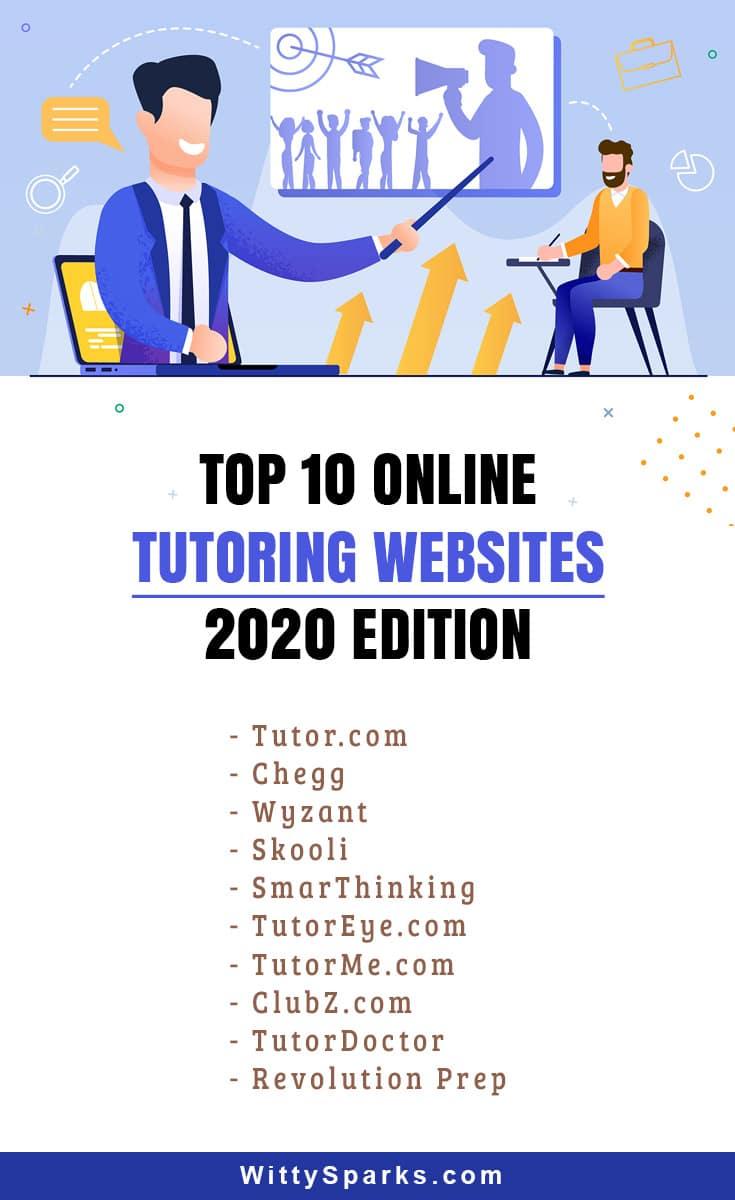 Popular Online Tutoring Websites - 2020 Edition