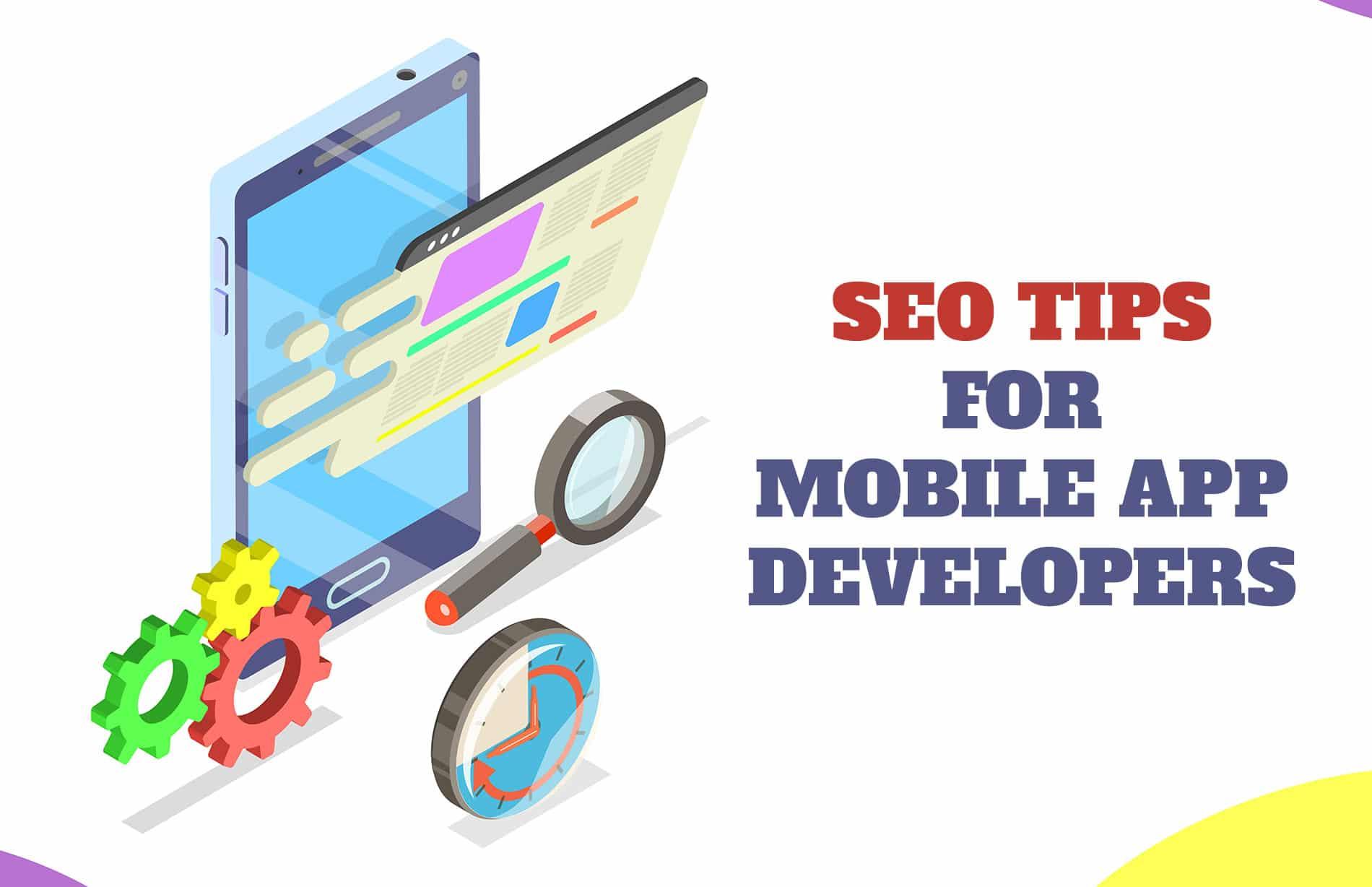 SEO tips for mobile app developers
