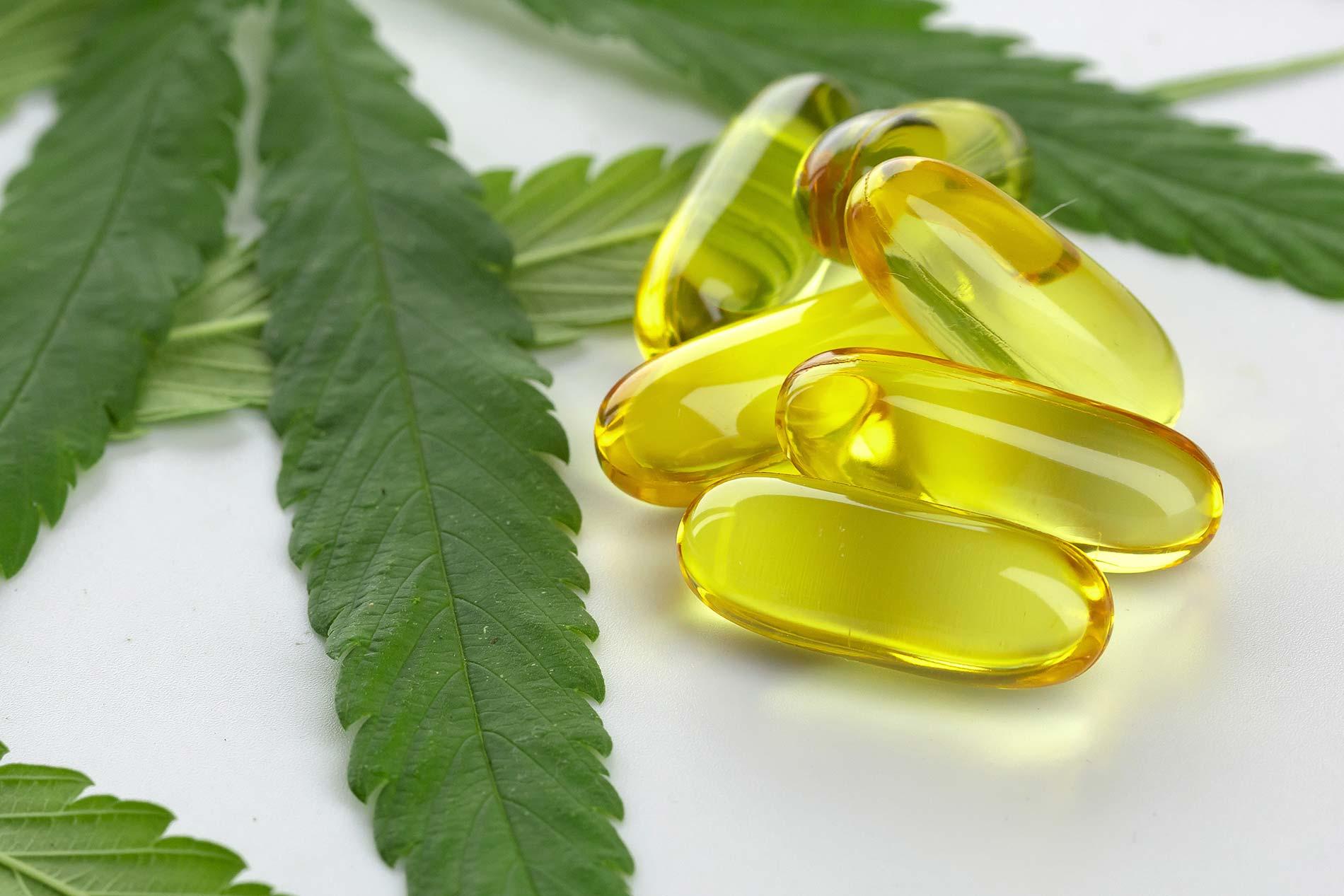 Cannabis essential oil capsules