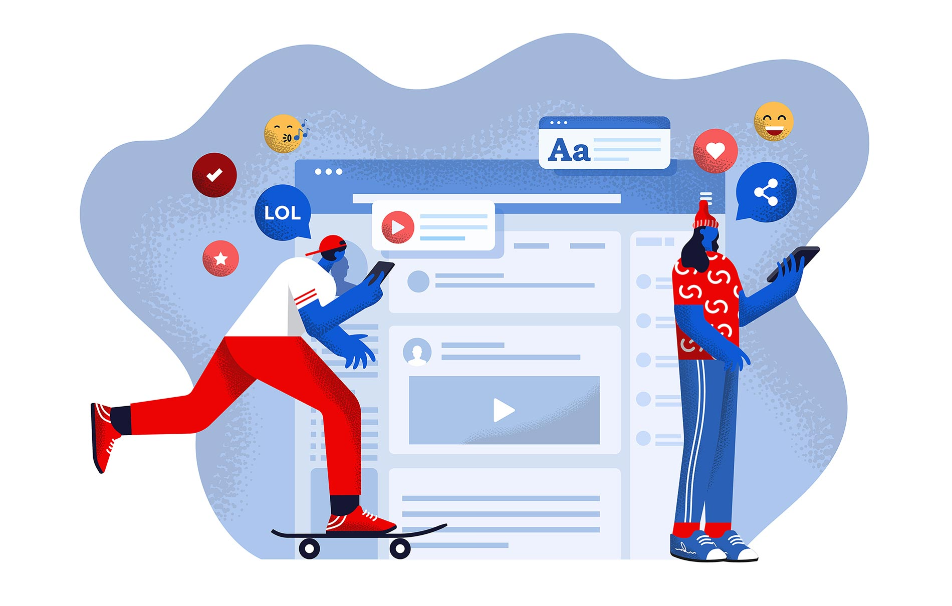 Impact of Social Media communication