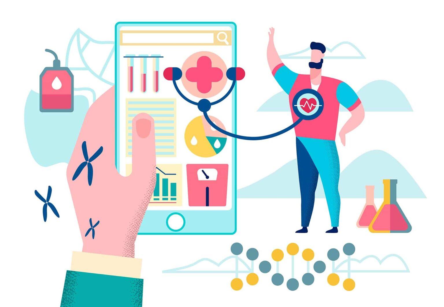 Online doctor consultation - Healthcare IoT