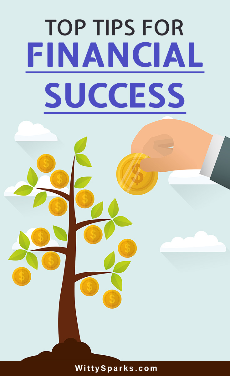 Top tips for financial improvement