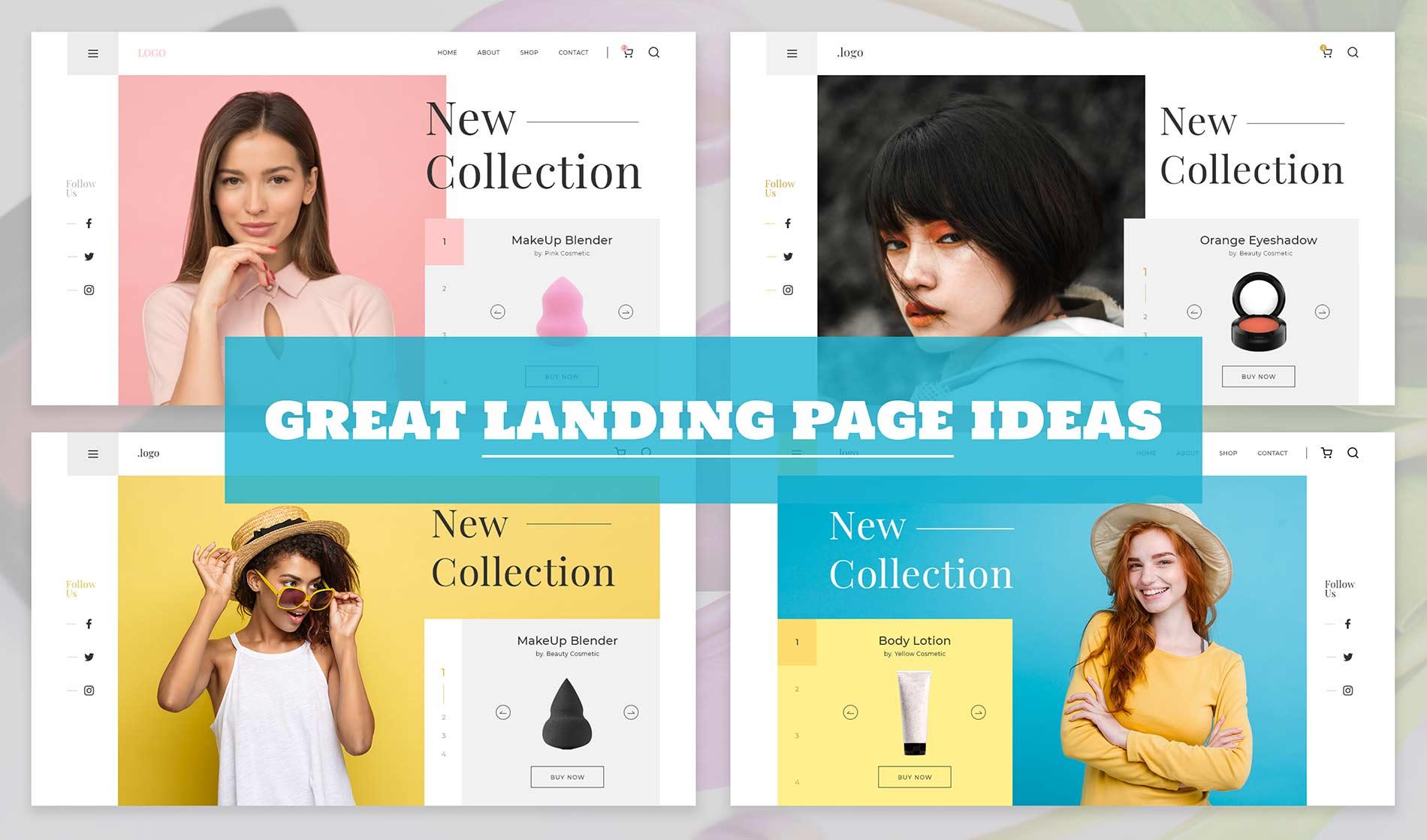 Best landing page design ideas