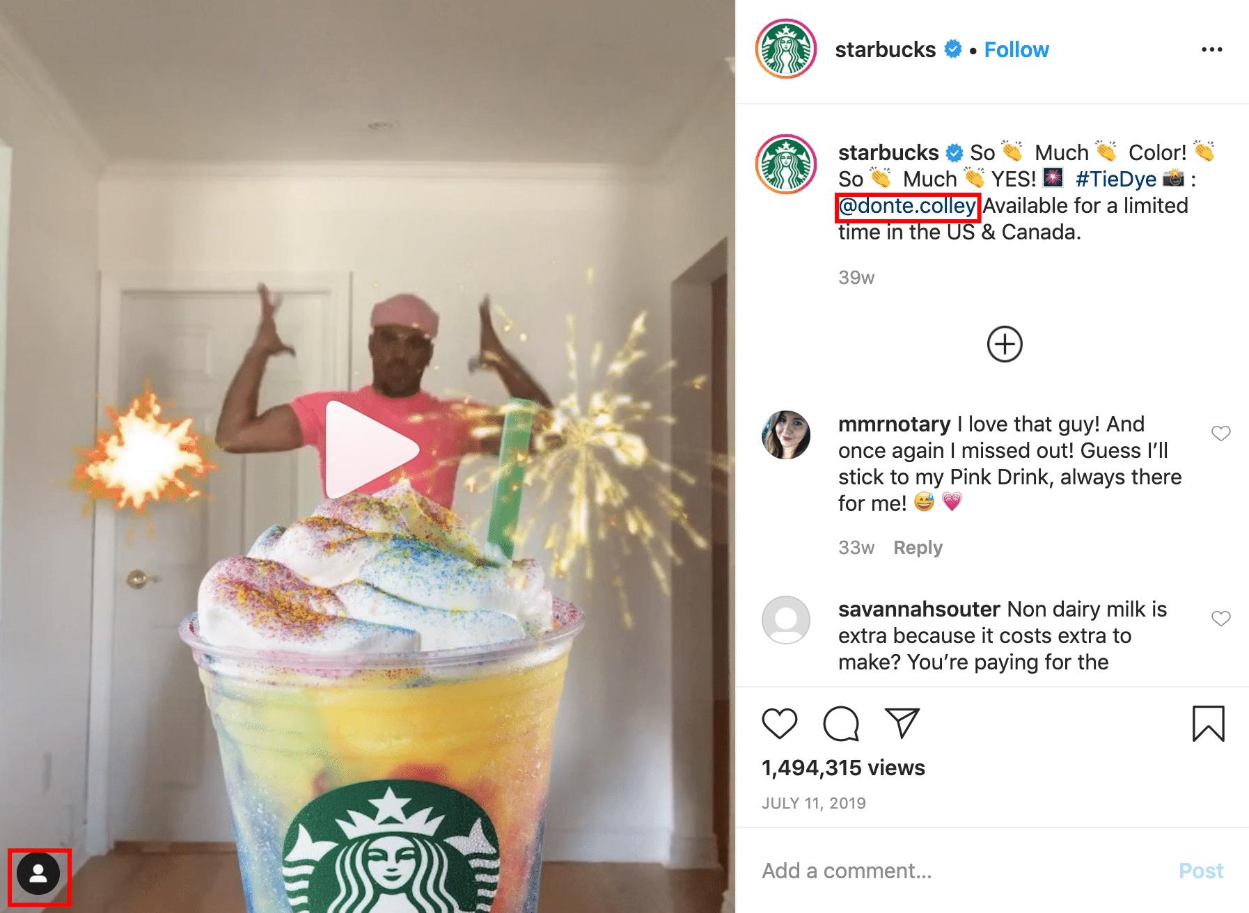 Starbucks - So much color instagram video