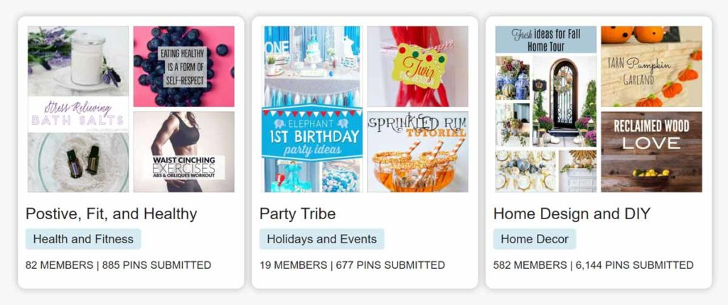 Tailwind tribes for pinterest marketing