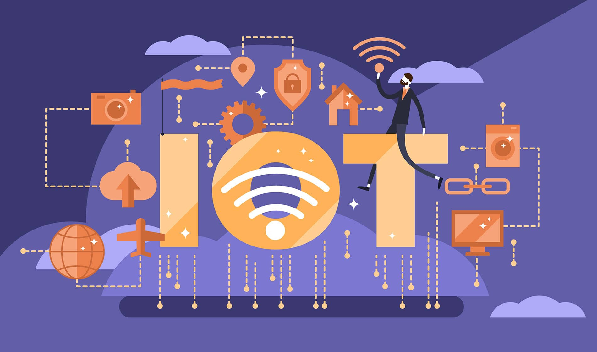 Use of Internet of things in Companies