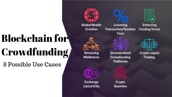 Blockchain for crowdfunding - Use Cases