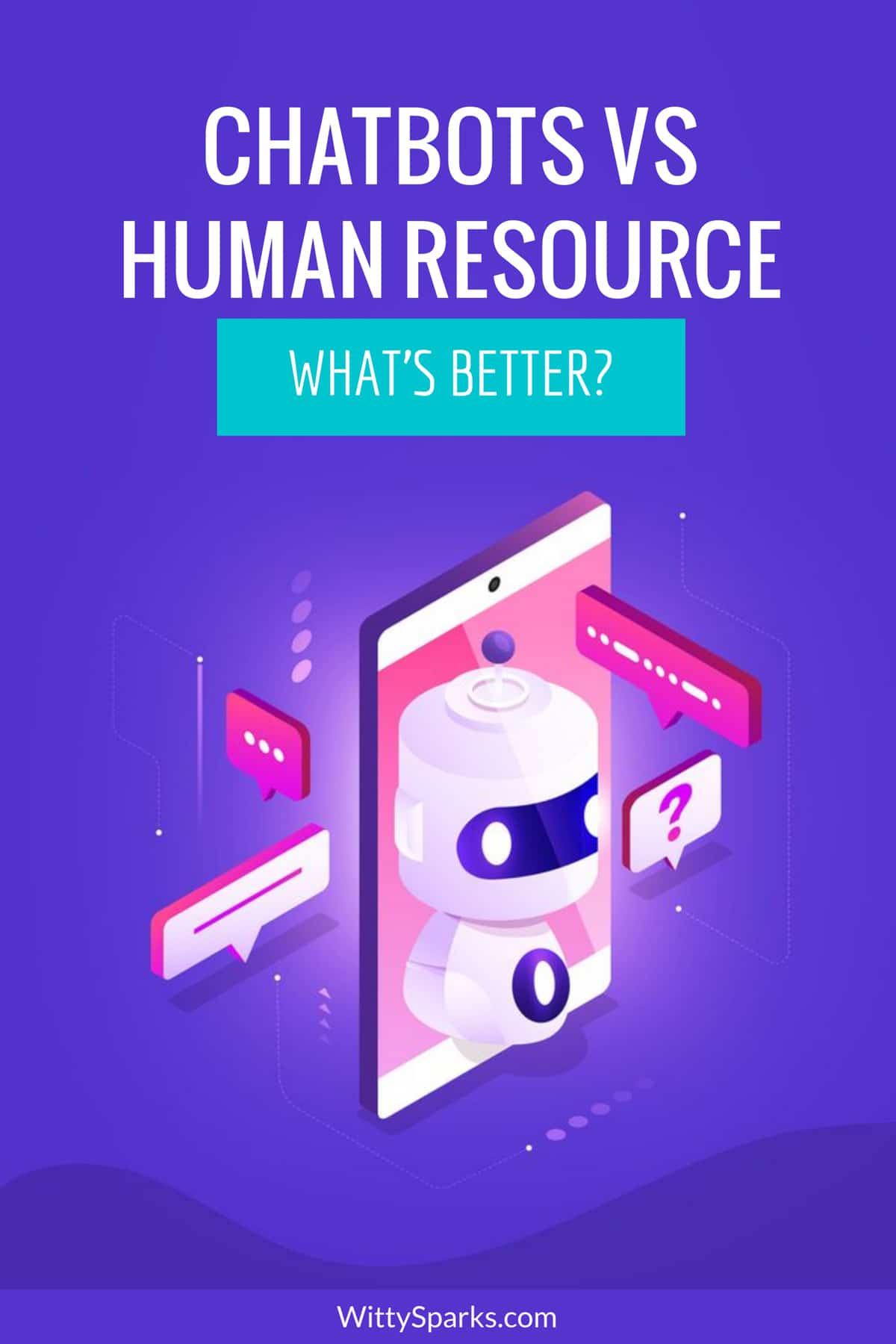 Chatbots vs human resource services