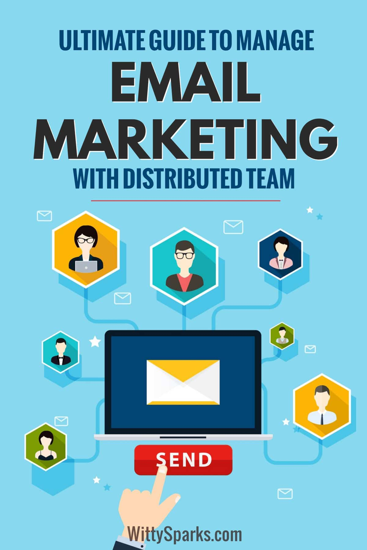 Email marketing guide for distributed team