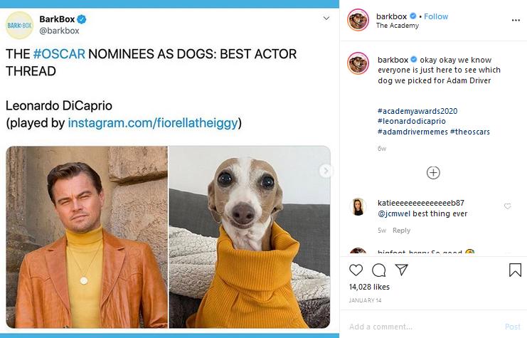The Oscar Nominees as Dogs: Best Actor Thread